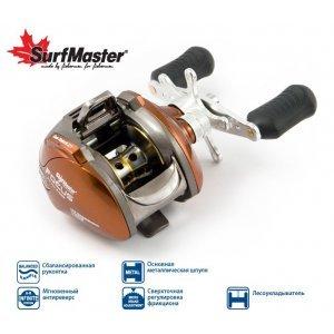Катушка мультипликаторная Surf Master Focus FC10A, 6п.+2р.п