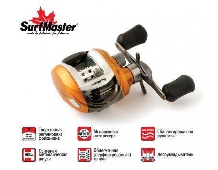 Катушка мультипликаторная Surf Master Silver Fish 20R, 5п.+1р.п