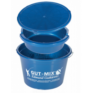 Ведро для прикормки GUT-MIX 25л (миска+крышка)
