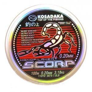 Леска Kosadaka Scorp 100м
