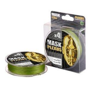 Плетенка Akkoi Mask Plexus X4-125м, зеленая