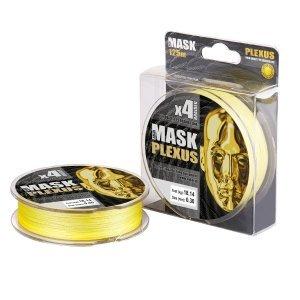 Плетенка Akkoi Mask Plexus X4-125м, желтая