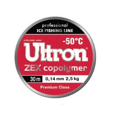 Леска Ultron Zex Copolimer 30м