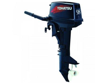 Подвесной 2-х тактный бензиновый лодочный мотор Tohatsu M9.8В S