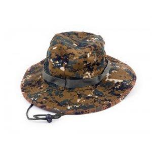 Шляпа-панама T-922 КМФ клетка