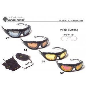 Очки поляризационные Tagrider в чехле GLTR 012 диоптрийная вставка