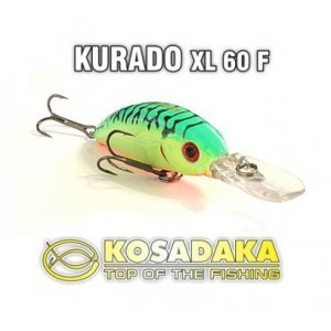 Воблер KOSADAKA KURADO XL 60F