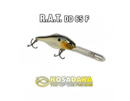 Воблер Kosadaka Rat DD 65F