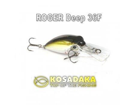 Воблер KOSADAKA Roger Deep 36F