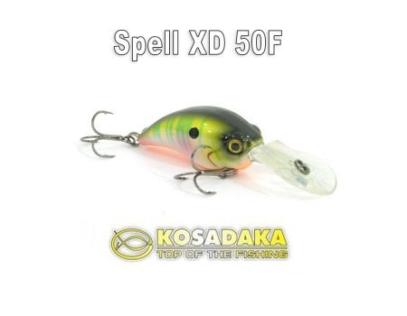 Воблер Kosadaka Spell XD 50F