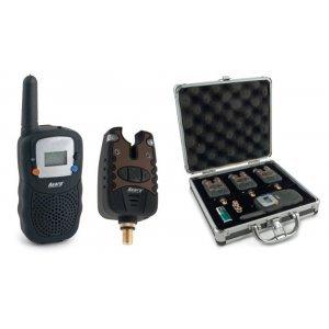 Набор сигнализатор клёва Akara Carp Pro, 3 шт.+пейджер