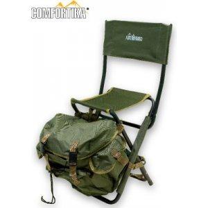 Стул складной со спинкой и рюкзаком Comfortika YD0605