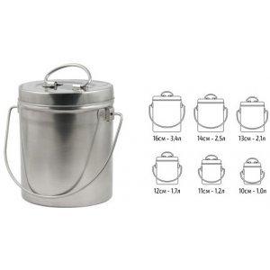 Набор котелков Comfortika пищевая сталь (6 шт)
