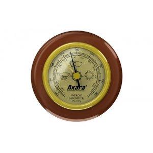 Барометр Akara B001 деревянная оправа, 70 мм