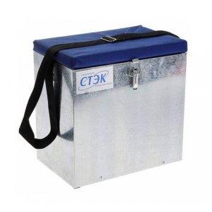 Ящик металлический для зимней рыбалки СТЭК, 23л