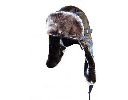 Шапка-ушанка Snow Fox черная