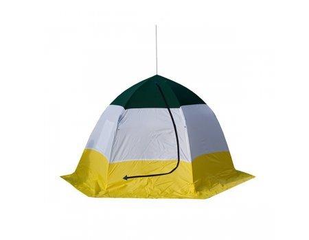 Палатка зимняя Стэк-3 Elite (двухслойная-дышащая)