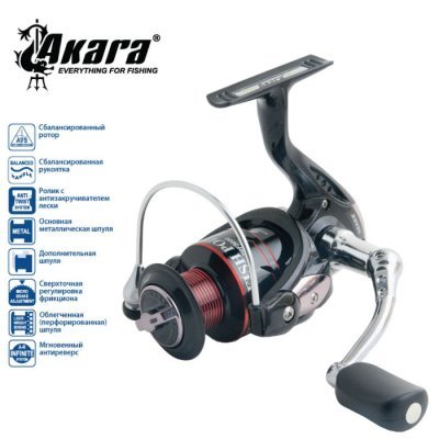 Катушка AKARA Fish Point FPF3000, 4п.+1р.п
