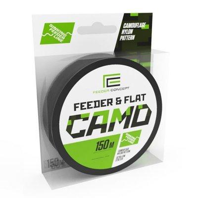 Леска монофильная Feeder Concept Feeder&Flat Camo 150м