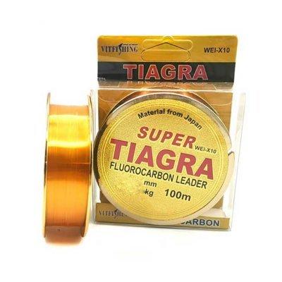 Леска Super Tiagra Fluorocarbon Leader 100м