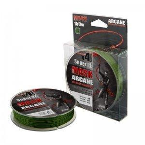 Плетенка Akkoi Mask Arcane X4-150м, зеленая