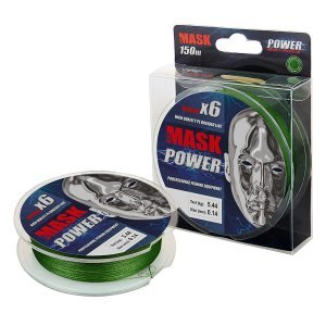 Плетенка Akkoi Mask Power X6-150м, зеленая