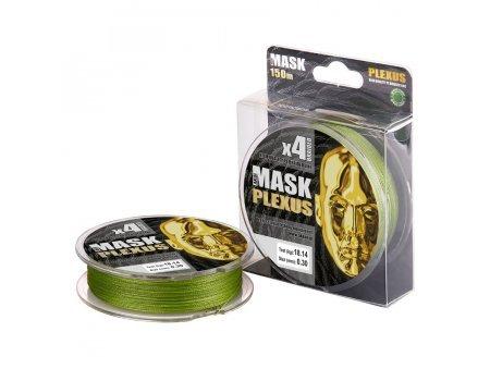 Плетенка Akkoi Mask Plexus X4-150м, зеленая