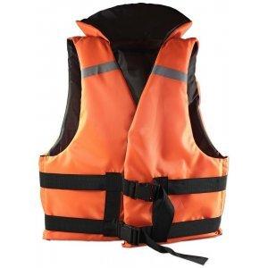 Жилет спасательный оранжевый до 100кг