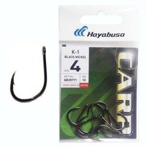 Крючки карповые Hayabusa K-1 №6 BN