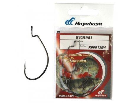 Крючки офсетные Hayabusa WRM 951 №4/0 BN