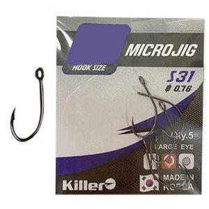 Крючки для микроджига Killer S-31 Microjig №2 (5шт)