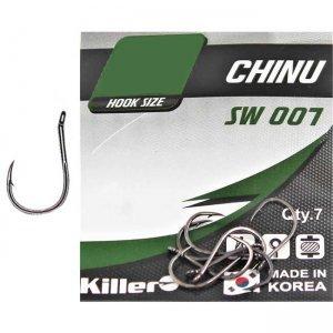 Крючки Killer SW-007 Chinu №10 (9шт)