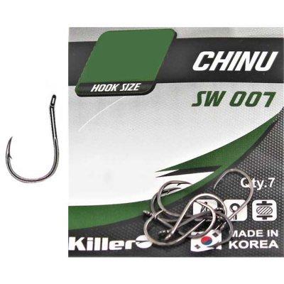 Крючки Killer SW-007 Chinu №8 (8шт)