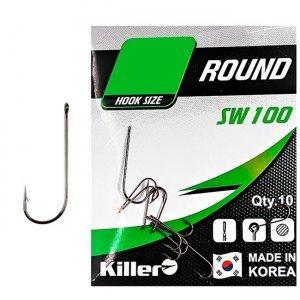 Крючки Killer SW-100 Round №8 (9шт)