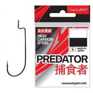 Крючки офсетные Lucky John Predator LJH340-002, №2 (8шт)