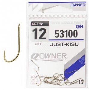 Крючки Owner Just-Kisu 53100 №12 (15шт)
