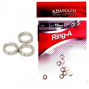 Заводные кольца Namazu Ring-A, 10шт