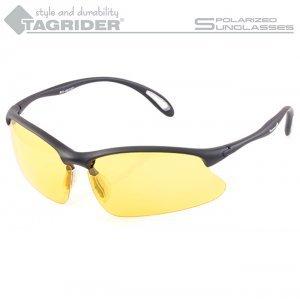 Очки поляризационные Tagrider N03-3 Yellow в чехле