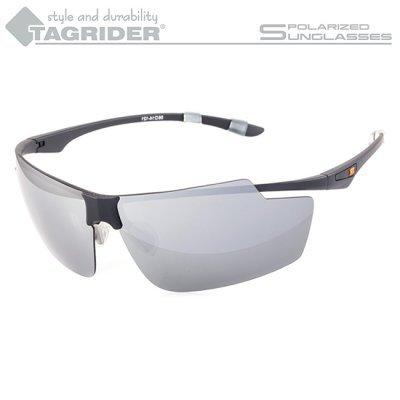 Очки поляризационные Tagrider N04-27 Gray Mirror в чехле