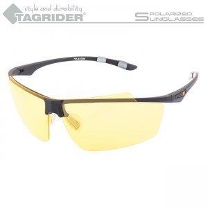 Очки поляризационные Tagrider N04-3 Yellow в чехле