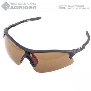 Очки поляризационные Tagrider N11-1 Brown в чехле
