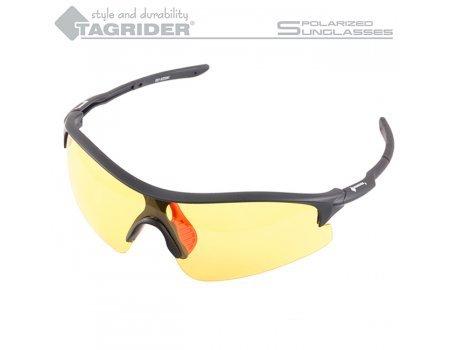 Очки поляризационные Tagrider N11-3 Yellow в чехле