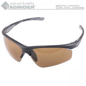 Очки поляризационные Tagrider N15-1 Brown в чехле
