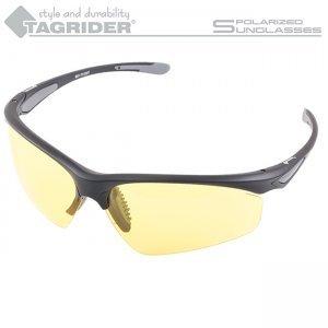 Очки поляризационные Tagrider N16-3 Yellow в чехле