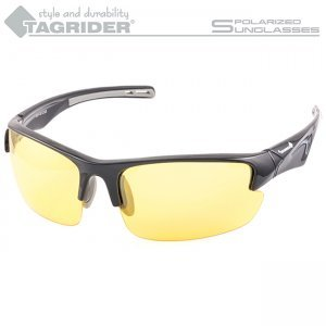 Очки поляризационные Tagrider в чехле N09-3 Yellow