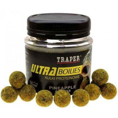 Бойлы Traper Ultra Boilies (Ananas, ананас), 100г/16мм