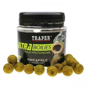 Бойлы Traper Ultra Boilies (Ananas, ананас), 100г/12мм