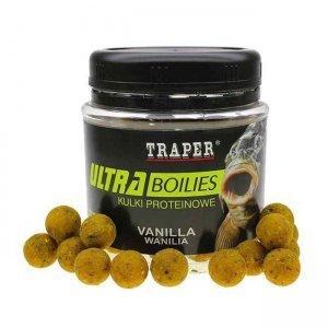 Бойлы Traper Ultra Boilies (Wanillia, ваниль), 100г/12мм