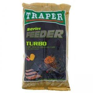 Прикормка Traper Feeder Turbo (коричневая), 1кг