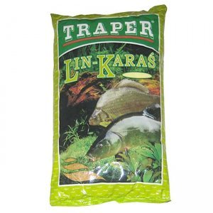 Прикормка Traper Популярная Линь-Карась (коричневая), 1кг